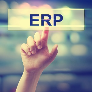 ERP - Enterprise Resource Planning concept
